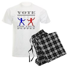 Vote For Your Puppet pajamas