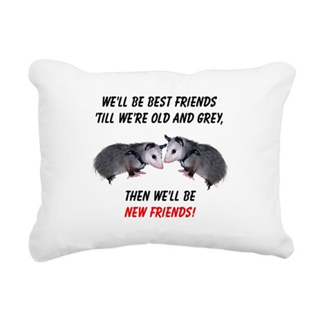 bestfriends4.png Rectangular Canvas Pillow