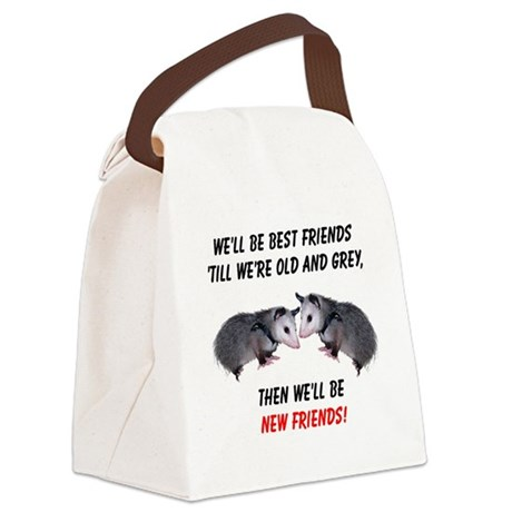 bestfriends4.png Canvas Lunch Bag