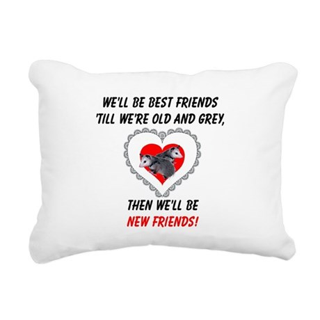 bestfriends3.png Rectangular Canvas Pillow