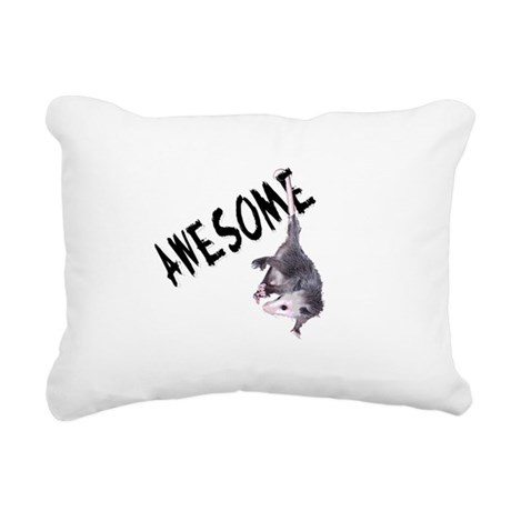 possum32b.png Rectangular Canvas Pillow