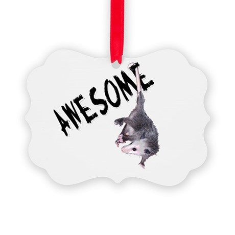 possum32b.png Picture Ornament