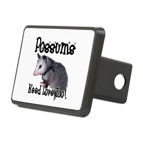 possum34.png Rectangular Hitch Cover