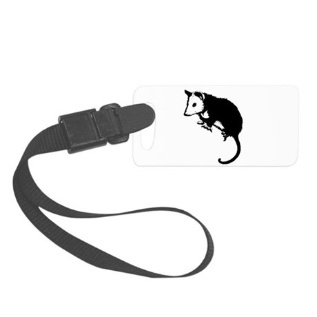possumsil2.png Small Luggage Tag