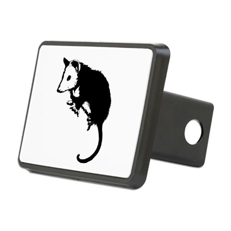 possumsil2.png Rectangular Hitch Cover