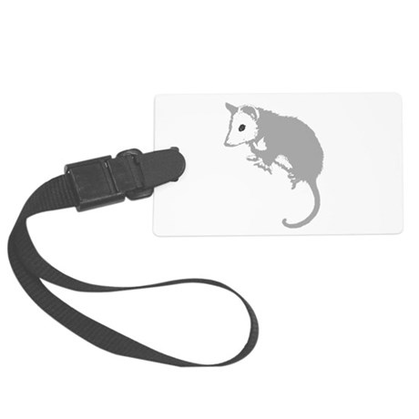 possumsil2a.png Large Luggage Tag
