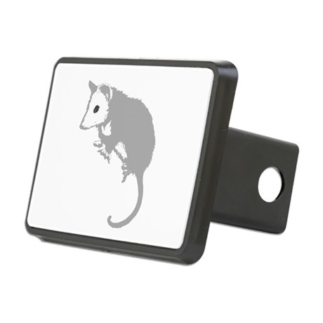 possumsil2a.png Rectangular Hitch Cover