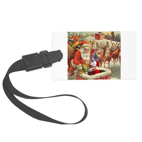 santahelper2a.png Large Luggage Tag
