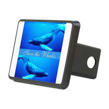 whales4.png Rectangular Hitch Cover