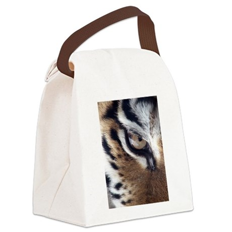 tigereye.jpg Canvas Lunch Bag
