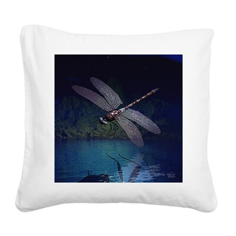 dragonfly10asq.jpg Square Canvas Pillow
