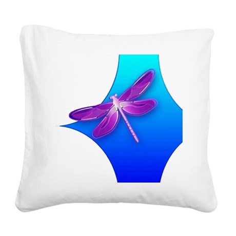 dragonfly22aa.png Square Canvas Pillow