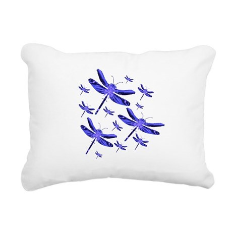 dragonfly4b.png Rectangular Canvas Pillow