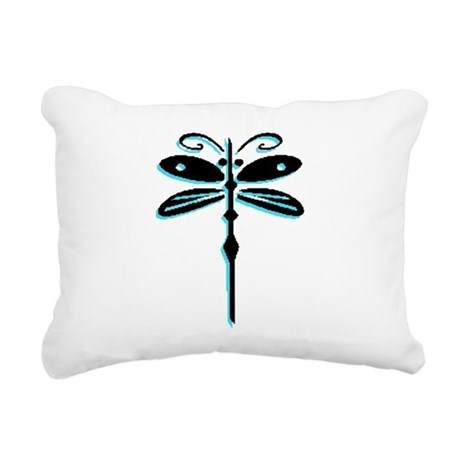 dragonfly5a.png Rectangular Canvas Pillow