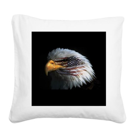 eagle3d.png Square Canvas Pillow