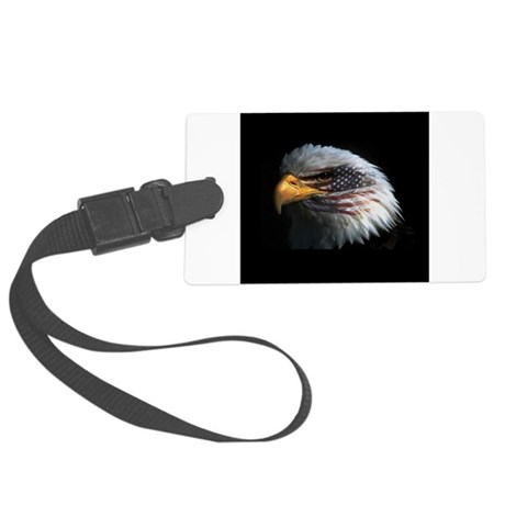 eagle3d.png Large Luggage Tag