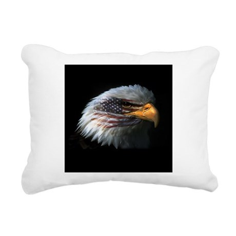 EagleRight Rectangular Canvas Pillow