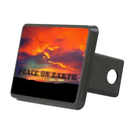 Peace on Earth Rectangular Hitch Cover