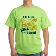 400 Club Bench Press T-Shirt