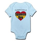 Everyone Loves Spanish Boy Infant Bodysuit