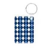 Blue Arglye Keychains