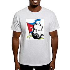 Fidel Castro Ash Grey T-Shirt