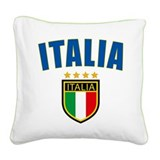 4-italia.png Square Canvas Pillow