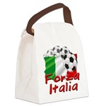 forza italia.png Canvas Lunch Bag