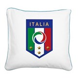 italian emblem.png Square Canvas Pillow