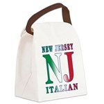 NJITALIAN.png Canvas Lunch Bag
