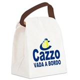 cazzo cruise line.png Canvas Lunch Bag