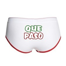 Que Paso Women's Boy Brief