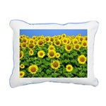 Sunflowers Rectangular Canvas Pillow