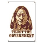 Trust Government Sitting Bull Banner