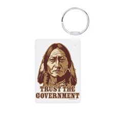 Trust Government Sitting Bull Keychains