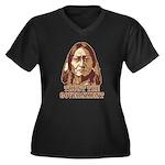 Trust Government Sitting Bull Women's Plus Size V-