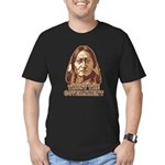 Trust Government Sitting Bull Men's Fitted T-Shirt