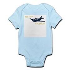 My First Vacation (plane) Infant Creeper
