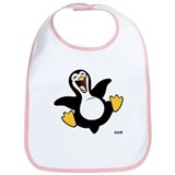 Happy Penguin Bib
