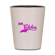 Team Chloe Shot Glass