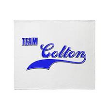 Team Colton Throw Blanket