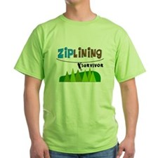 ziplines survivor 4.PNG T-Shirt