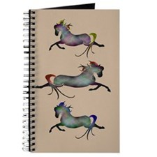 Cute Riding horses Journal