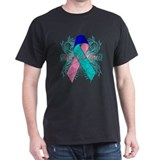 Thyroid Cancer Flourish T-Shirt