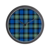Tartan - Sinclair of Ulbster Wall Clock