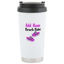 BEACH BABE Ceramic Travel Mug