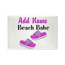 BEACH BABE Rectangle Magnet