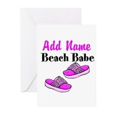 BEACH BABE Greeting Cards (Pk of 20)