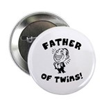 Father of Twins Button