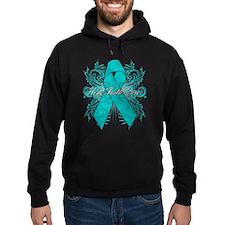 Ovarian Cancer Flourish Hoody